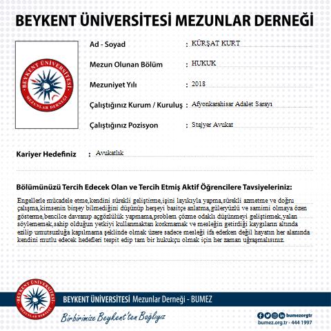 hukuk fakultesi mezunlari beykent universitesi mezunlar dernegi